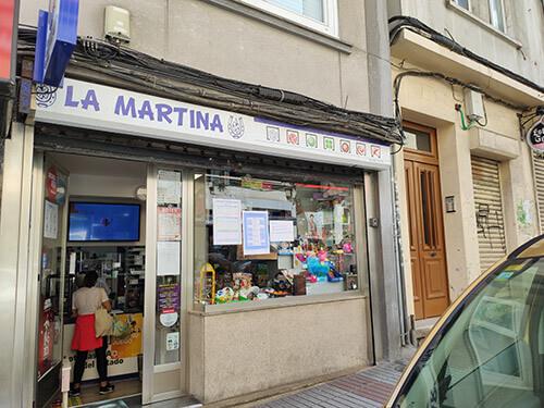 La Martina, loterías