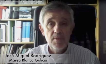 José Miguel Rodríguez, Marea Blanca Galicia