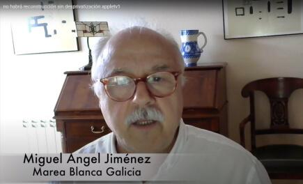 MIguel Ángel Jiménez, Marea Blanca Galicia