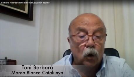 Toni Barbará, Marea Blanca Catalunya