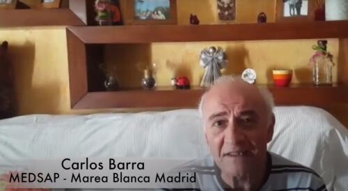 Carlos Barra, MEDSAP - Marea Blanca Madrid