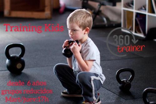 Entrenamiento para niños en 360 Trainer