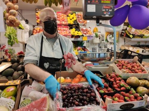 Frutería Rafa, en el Mercado As Conchiñas