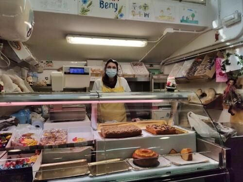 Panadería Beni, en el Mercado As Conchiñas