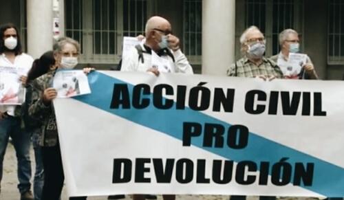 Protestas por el expolio del Pazo de Meirás